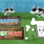 Copo de leite feliz